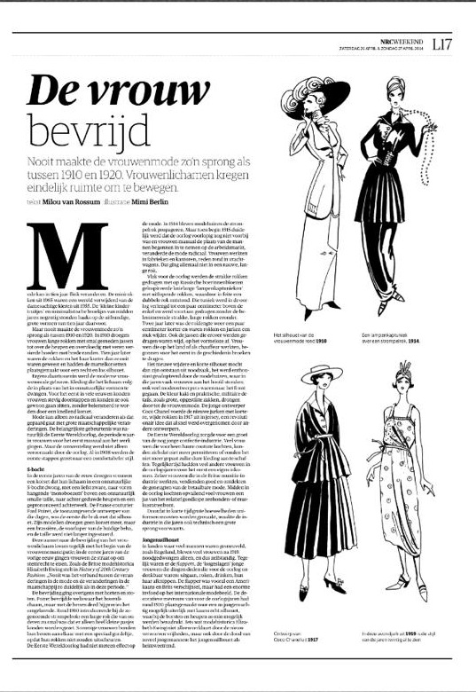 Illustrations by Mimi Berlin
