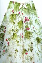 floral embroidery dior