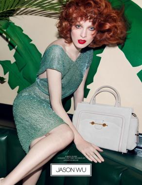 Jason Wu SS14 AD campaign,(without Daphne Groeneveld) photography by Inez van Lamsweerde and Vinoodh Matadin