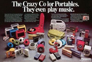 Panasonic advertisment 1970s
