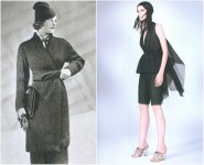left: Schiaparelli, l'Officiel – September 1933, photo by Egidio Scaioni. right: Prada S/S 2010, photo by David Sims.