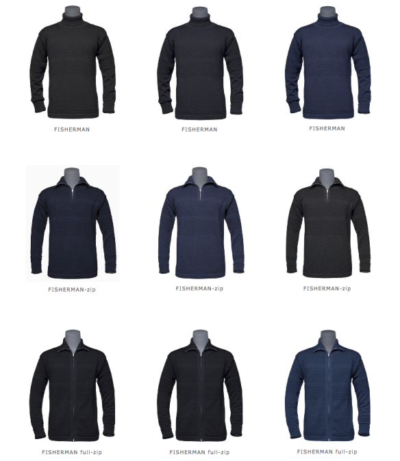 S.N.S. Herning's Fisherman Sweaters