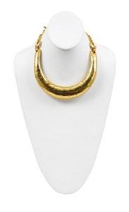 YSL gold bar necklace at Resurrection