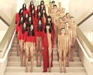 Vanessa Beecroft, performance, VB 60, Seoul, 2007