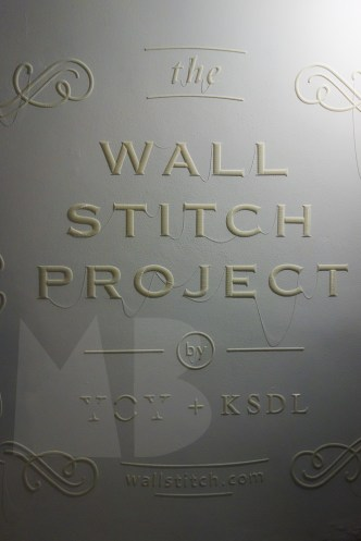 wall stitch project by Yoy