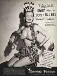 Sausage Queen, 1955