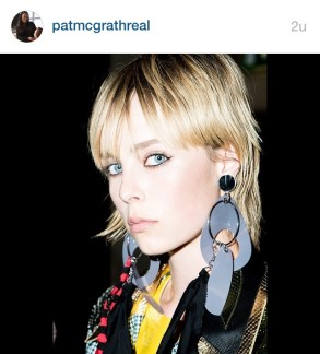 make-up by Pt McGrath #miumiuclub