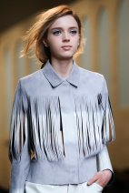 Fringes at Fendi
