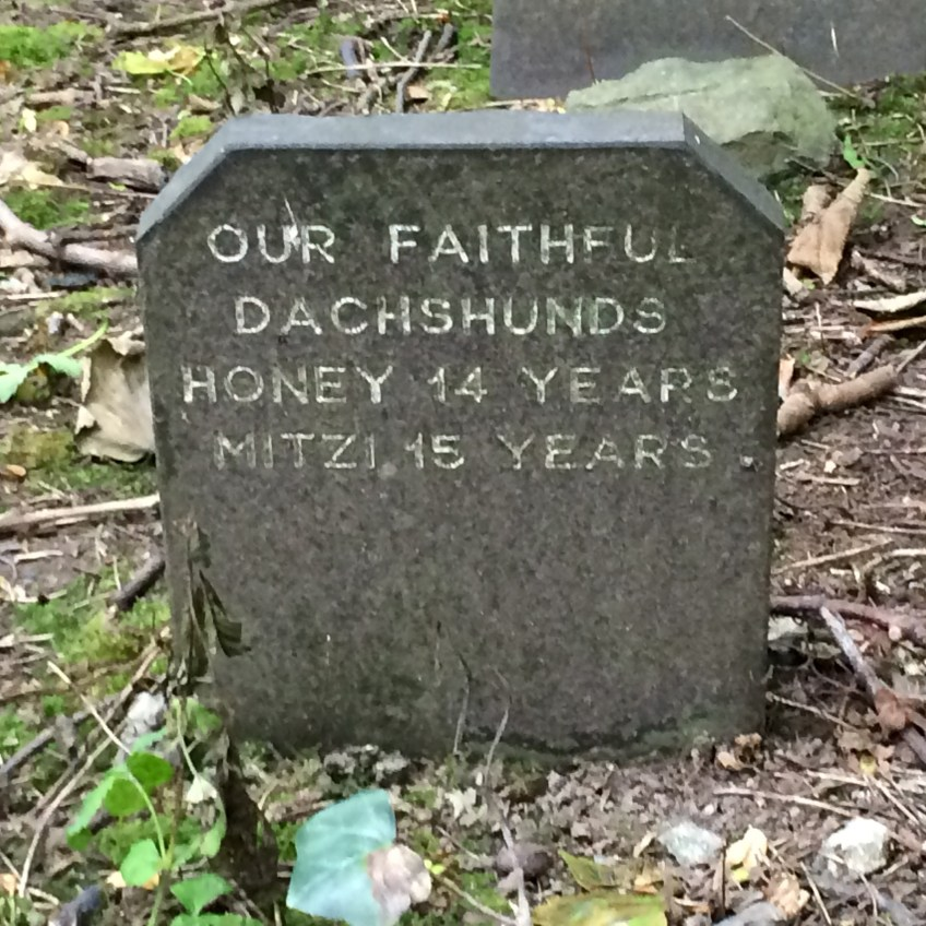 Doggie graves in Wales