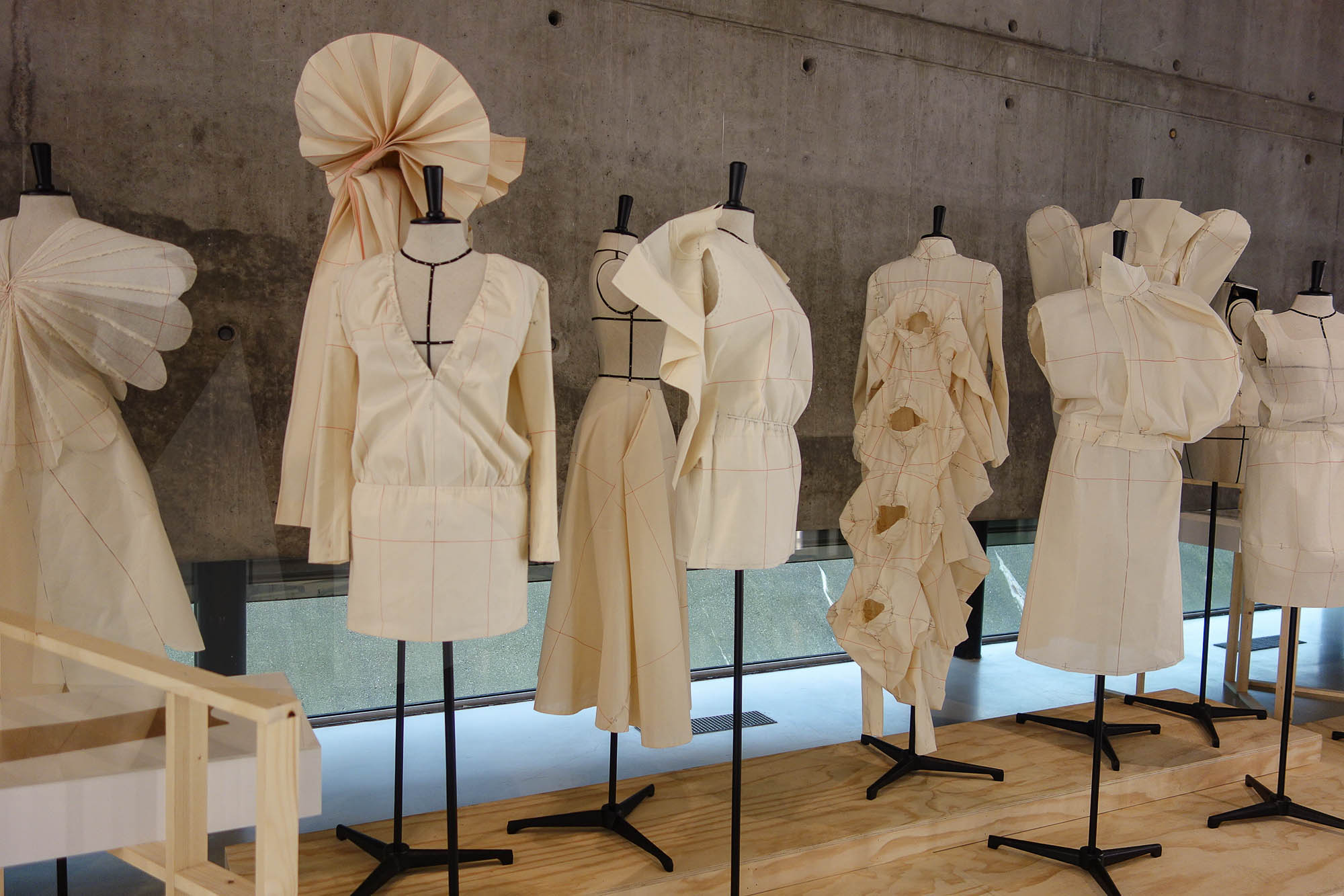 """A Speculative history of Dutch fashion: the re-creation of 13 toiles are """"simoulages"""", since they are simulations of moulages. Interpretations and not straight copies of originals by Michiel Keuper"""