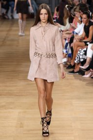 Little suede dress at Vanessa bruno