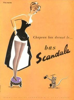 scandale ad