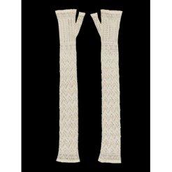 Victorian Fashion Items in White