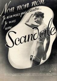Scandale, Lingerie Ads