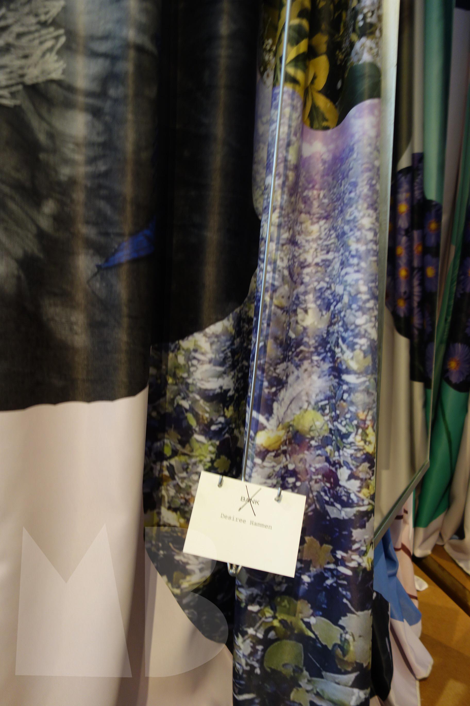 Desiree Hammen; Fitting Room Curtains