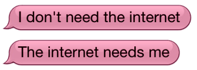 Internet Princess Says: