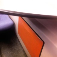 Color Composition Studies in a Dutch Train