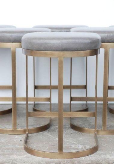 Milo Baughman vintagedeluxe stools Thayer Coggin USA,