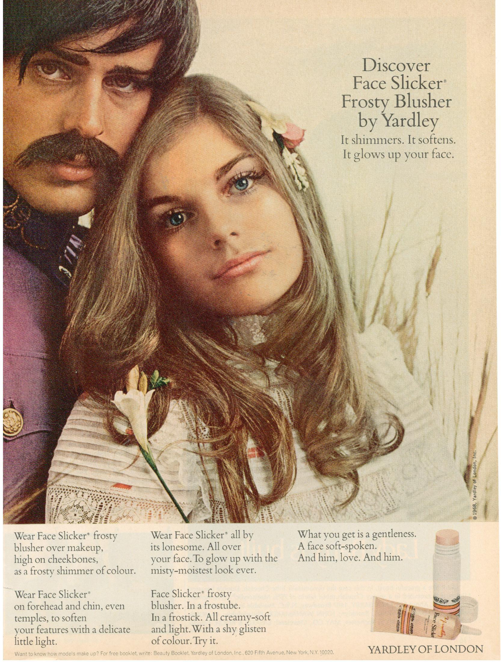 Bruce weber (!) and Patsy Sullivan. yardley-of-london Slicker