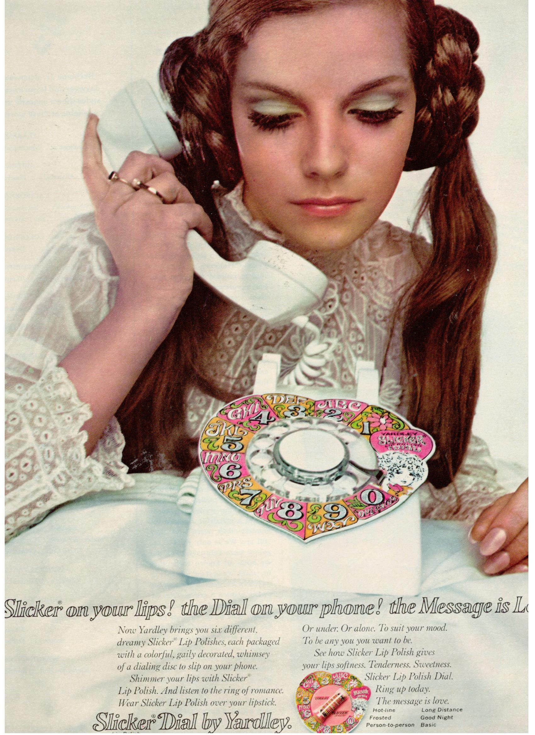 1968 Patsy Sullivan. yardley-of-london Slicker