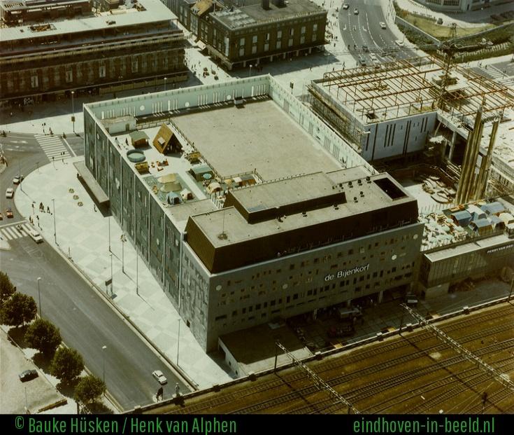 image bijenkorf seen from above