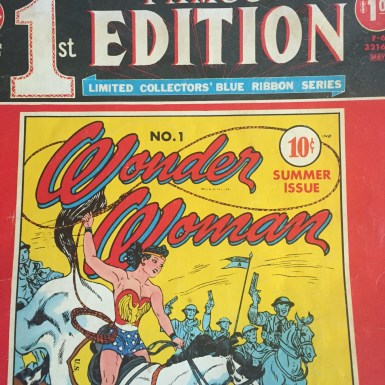 DC Superstars Wonder Woman Famous 1st Edition