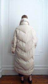 1980s puffer coat from Bill Blass