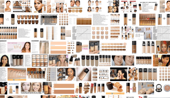 screenshot foundation shades search