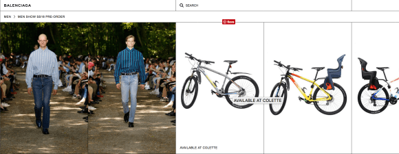 shop/pre-order the bike at Balenciaga.com