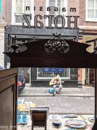 Shopfront seen from the inside