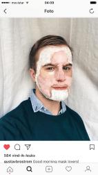 Gustav Brostrom's Beauty Multi Masks on Instagram