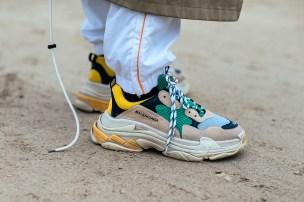 Triple S sneaker (photocredits: Asia Typek/Highsnobiety)