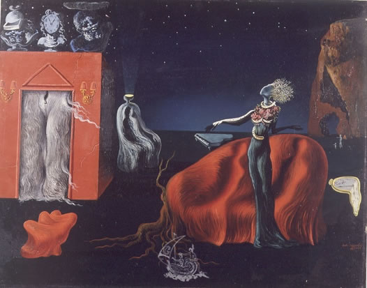Singularities, painting by Salvador Dali, 1935