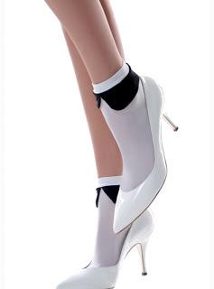 Emilio Cavallini Pierrot Collar Socks