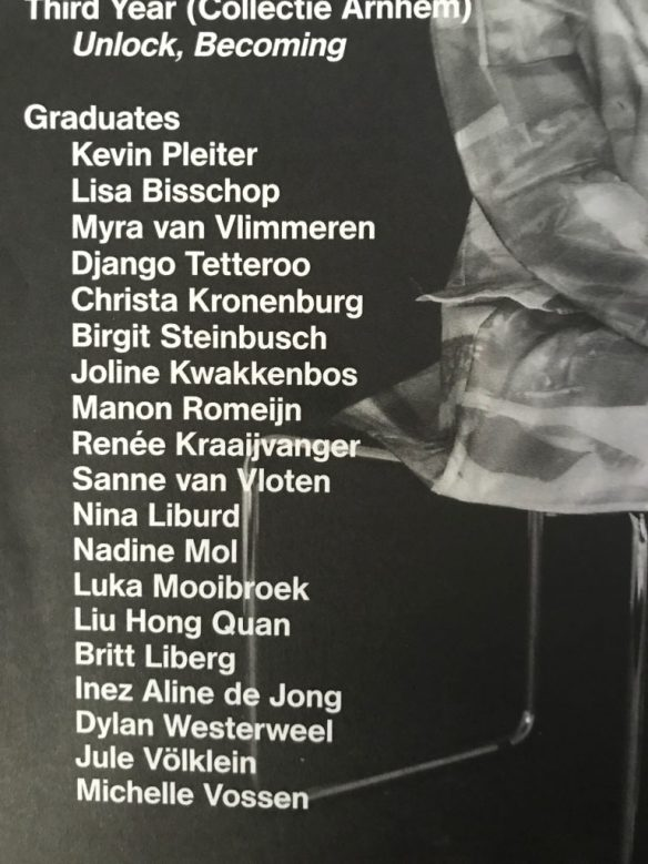 edition2019 fashion graduates ArtEZ Arnhem