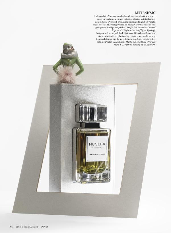 Perfume Stories for Harper's Bazaar Objet D'Amour