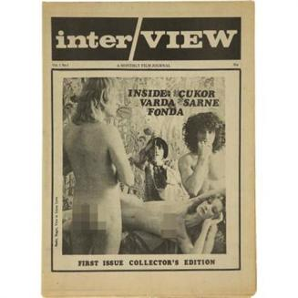 The First issue of Interview 1969