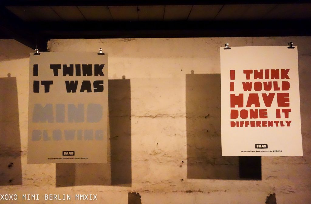 I Think Therefore I Was Installation by Maarten Baas
