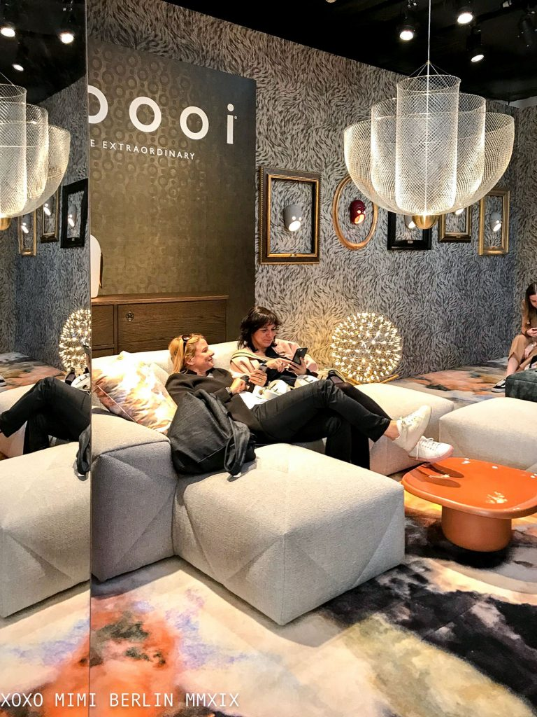 BFF sofa at Moooi. Design Week 2019