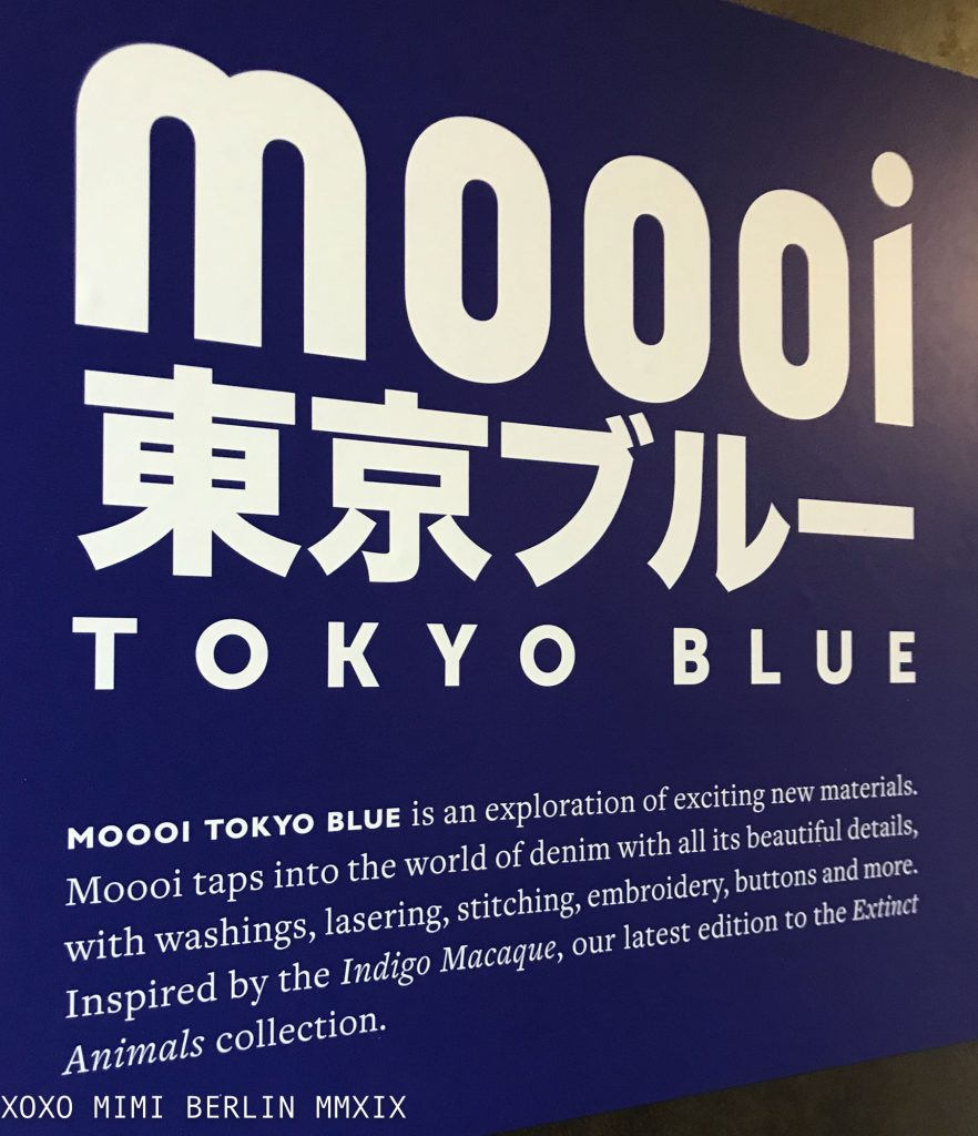 tokyo blue at Mooi Milano