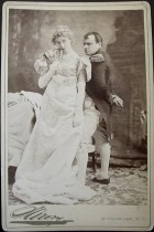 Photographer: Napoleon Sarony Performer: Kathryn Kidder Production: Madame Sans Gene Provenance/Credit: Harvard Theater Collection, TCS 2, Box 313