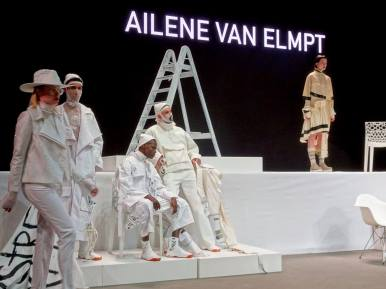 Mimi Berlin Blogger Team at in Amsterdam Fashionweek
