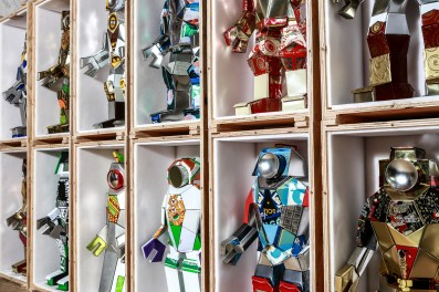Robot Sculptures by Hervé Stadelmann