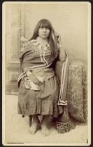 Woman from the Yavapai Tribe