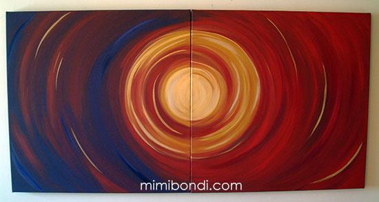 Circle of Love 2 by Mimi Bondi