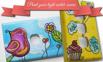Paint your light switch covers in 5 easy steps! (tutorial)