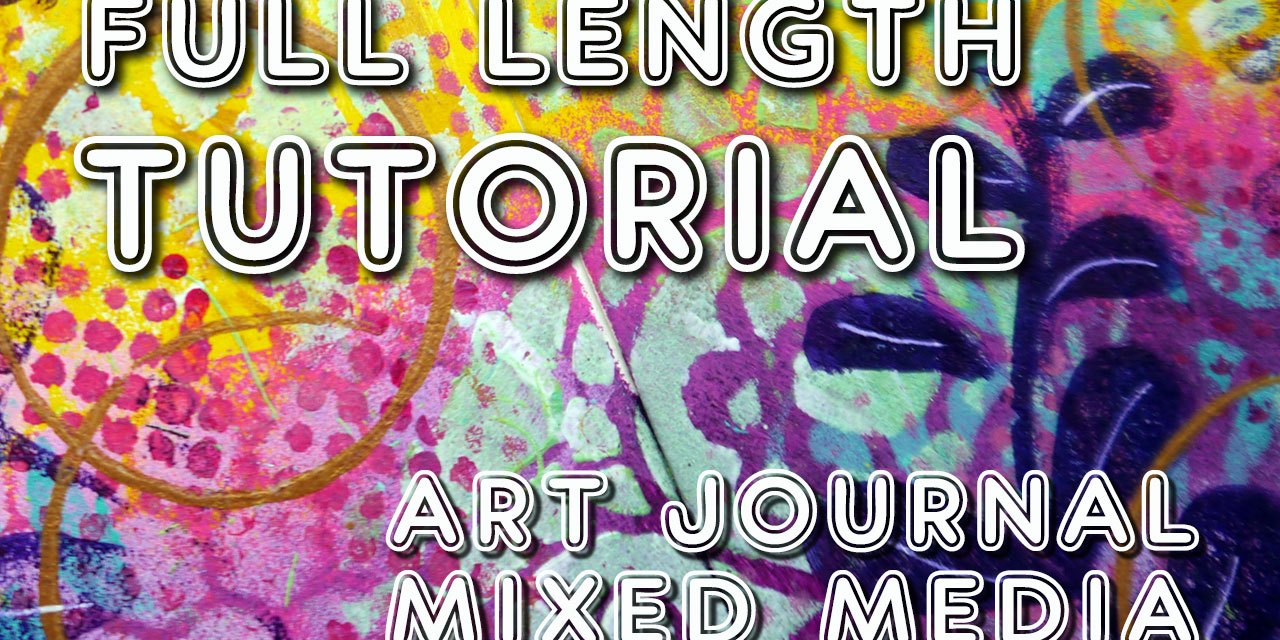 "Studio Time 12 – ""Which way to go?"" (intuitive art journaling)"