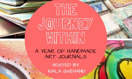 The Journey Within: make art journals for a year!