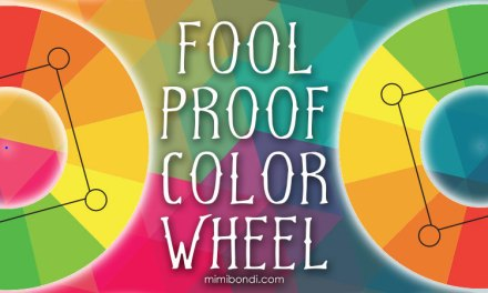 Foolproof color wheel for awesome color schemes!