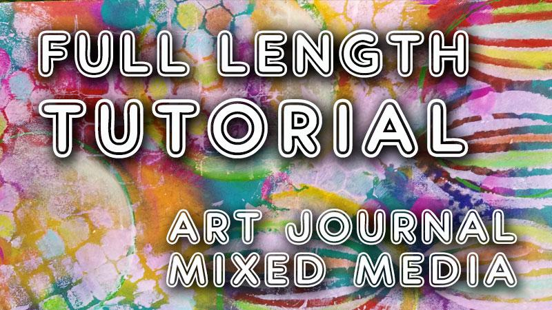 Heavenly art journal tutorial (ST38)
